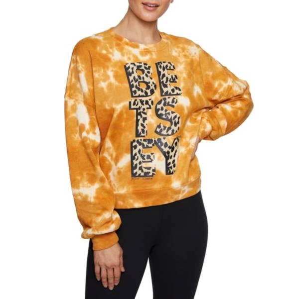 Betsey Johnson Women's Tie Dye Betsey Leopard Sweatshirt product image
