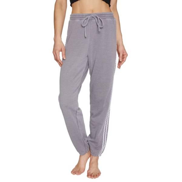 Betsey Johnson Women's Zig Zag Stripe Sweatpants product image