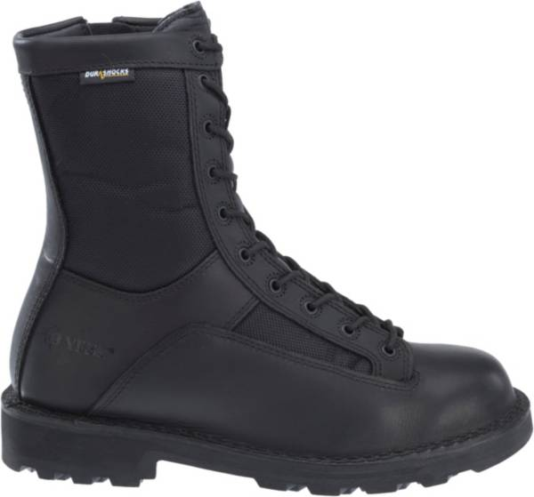 Bates Men's DuraShocks 8'' Side Zip Lace-to-Toe Work Boots product image
