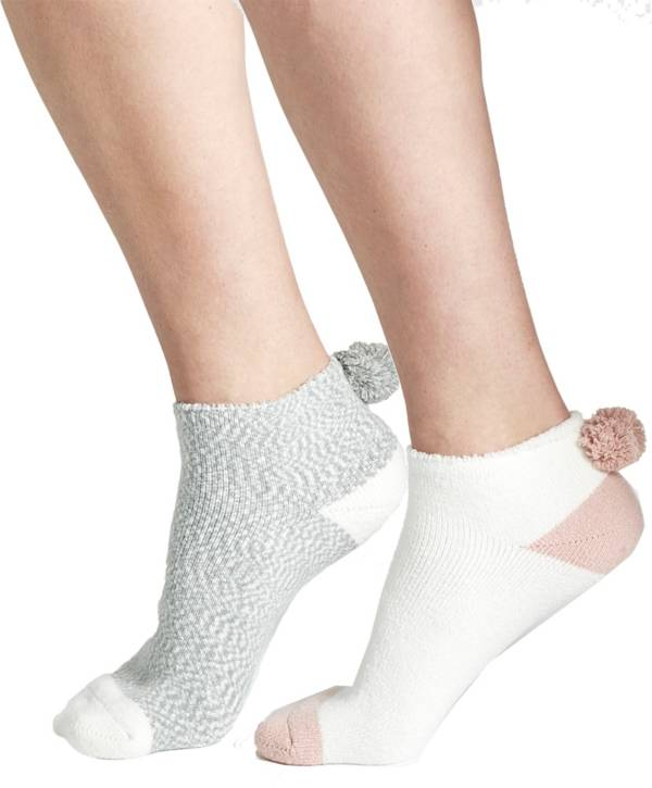 CALIA by Carrie Underwood Pom Footie Socks 2 Pack product image