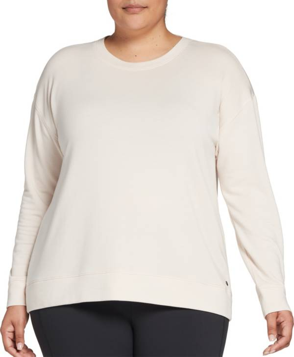 CALIA by Carrie Underwood Women's Plus Size Effortless Keyhole Sweater product image