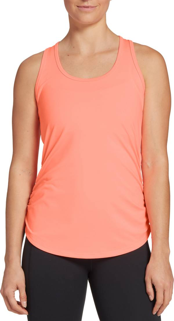 CALIA by Carrie Underwood Women's Flow Ruched Side Racerback Tank Top product image