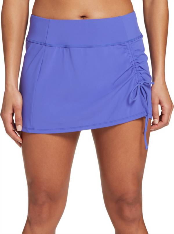 CALIA by Carrie Underwood Women's Ruched Swim Skirt product image