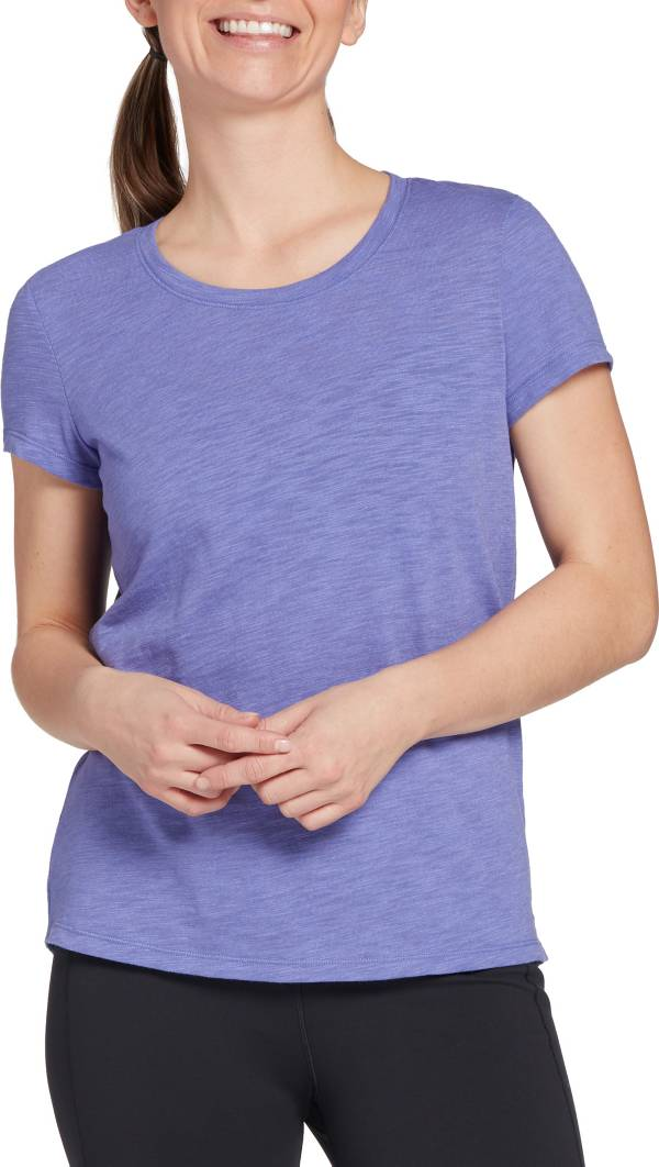 CALIA by Carrie Underwood Women's Drape Back Scoop Neck T-Shirt product image