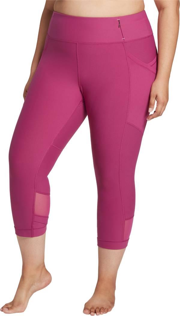 CALIA by Carrie Underwood Women's Pluz Size Essential Mesh Capris product image