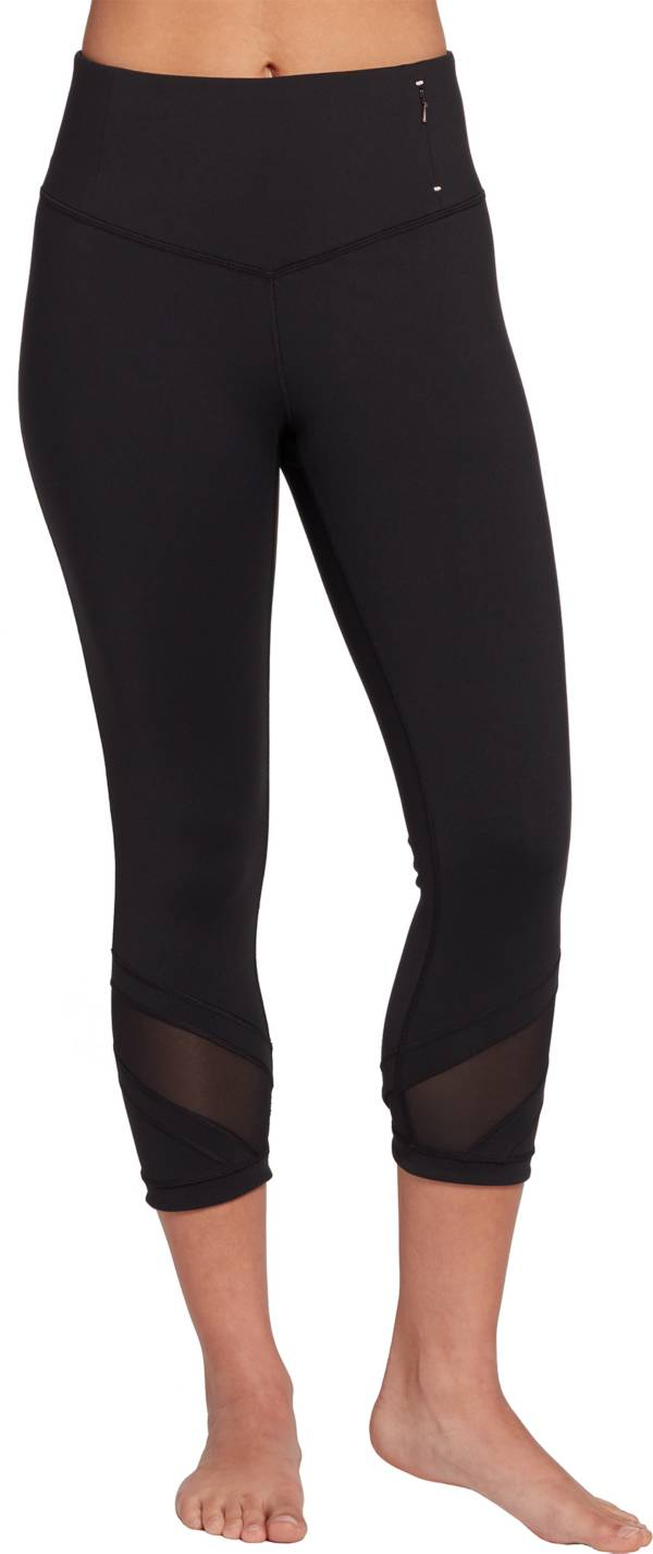 CALIA by Carrie Underwood Essential V Front Fitted Capris product image