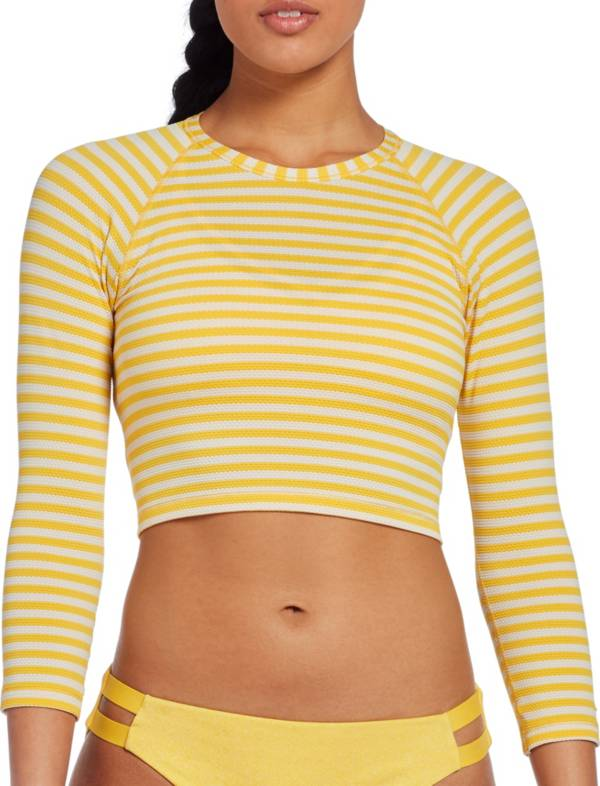 CALIA by Carrie Underwood Women's Cropped Rash Guard product image