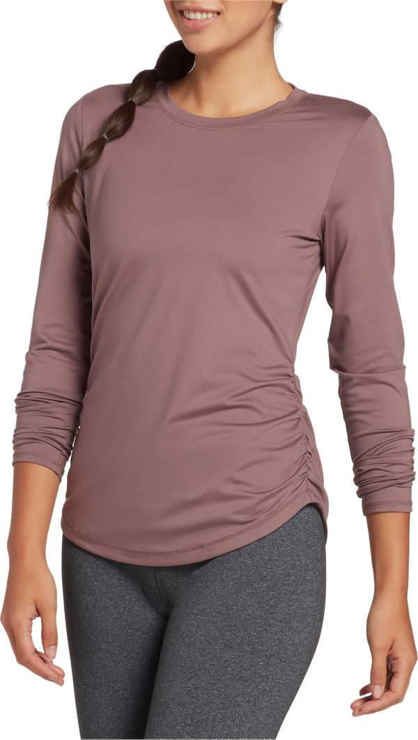 CALIA by Carrie Underwood Women's Flow Ruched Long Sleeve Shirt product image