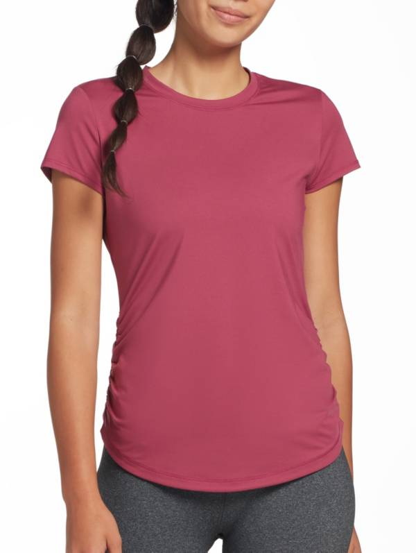 CALIA by Carrie Underwood Women's Flow Crewneck Ruched T-Shirt product image