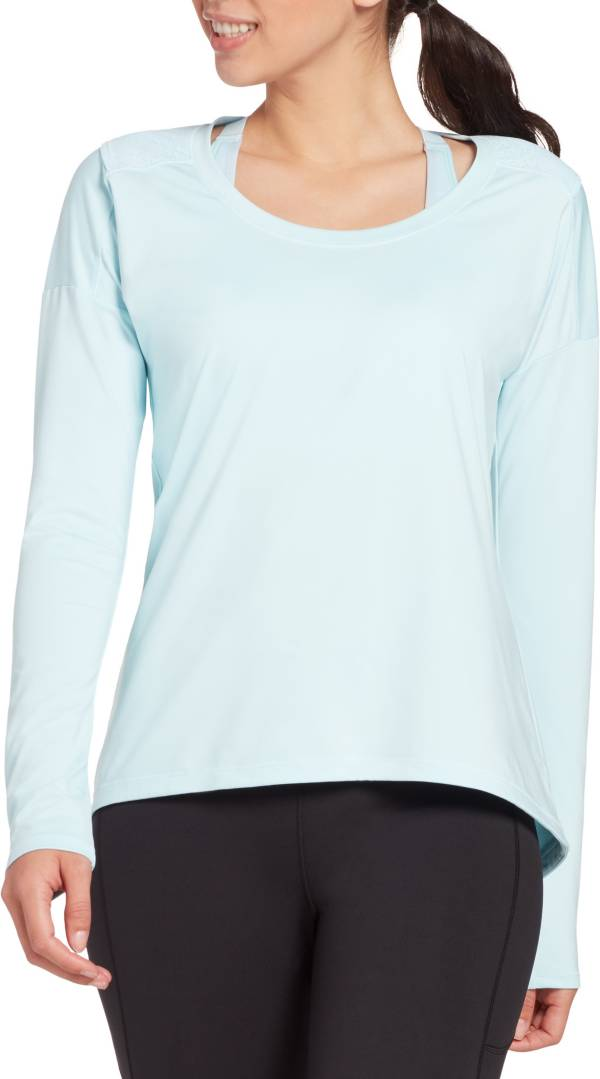 CALIA by Carrie Underwood Women's Mesh Racerback Long Sleeve Shirt product image