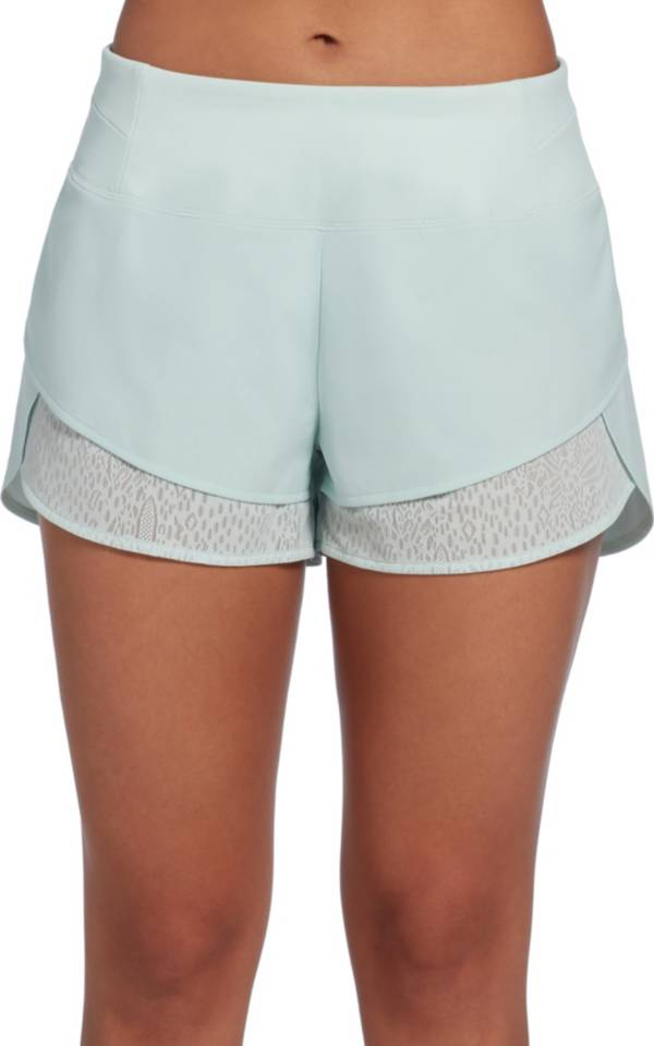 CALIA by Carrie Underwood Women's Anywhere Lace Petal Hem Shorts product image