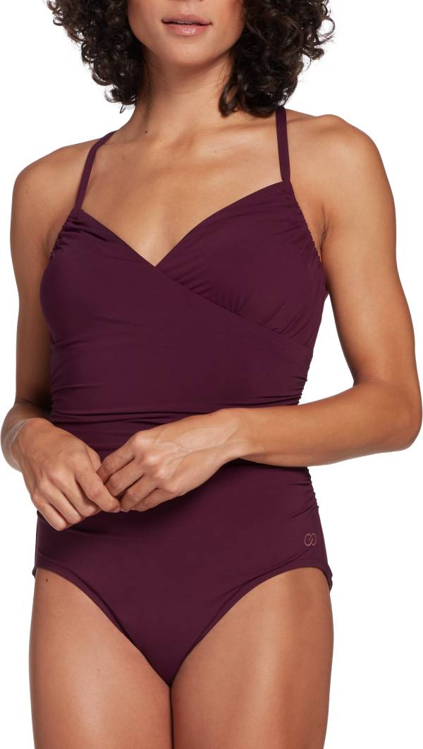 CALIA by Carrie Underwood Women's Ruched One Piece Swimsuit product image