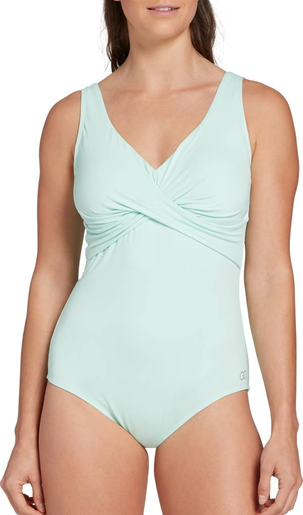 CALIA by Carrie Underwood Women's Twist Front One Piece Swimsuit product image