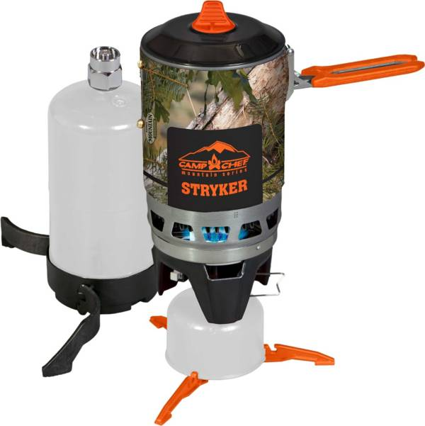 Camp Chef Stryker 200 King's Camo Multi-Fuel Stove product image