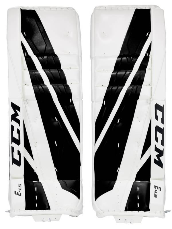 CCM Senior Extreme Flex E4.5 Hockey Goalie Pads product image