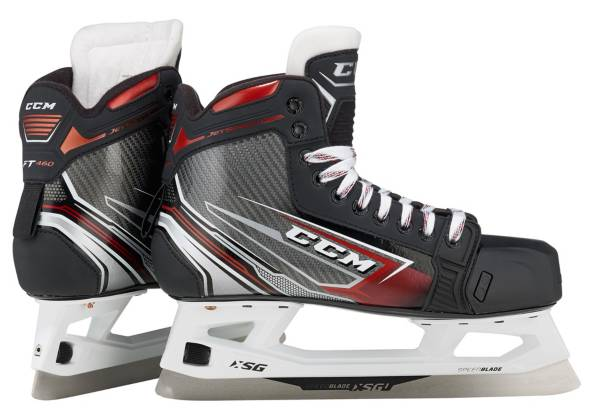 CCM Junior JetSpeed FT460 Goalie Ice Hockey Skates product image