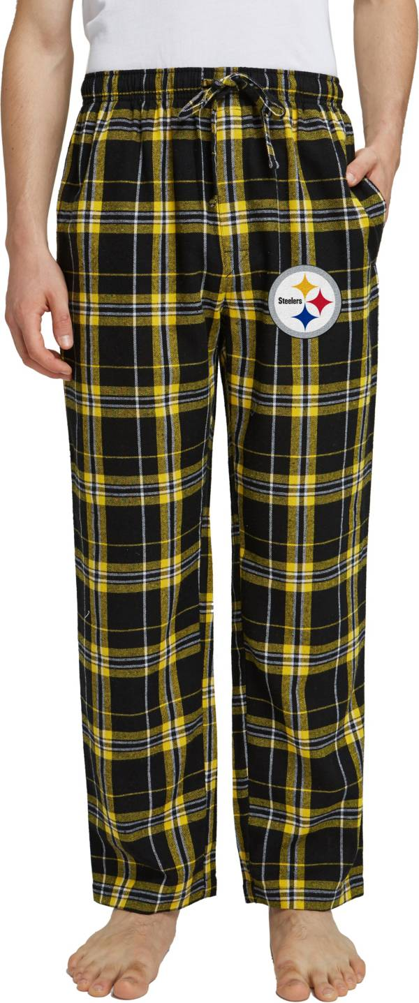Concepts Sport Men's Pittsburgh Steelers Hillstone Flannel Pants product image