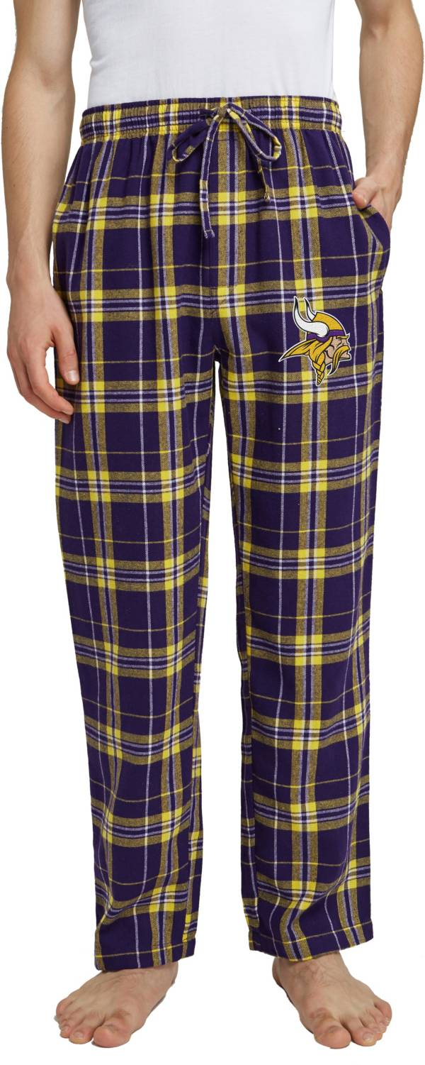 Concepts Sport Men's Minnesota Vikings Hillstone Flannel Pants product image