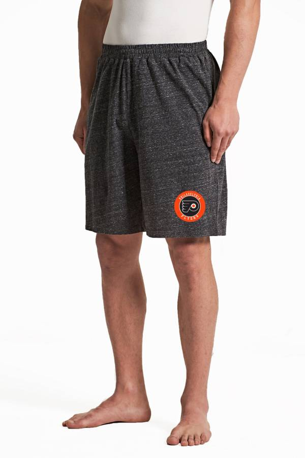 Concepts Sport Men's Philadelphia Flyers Pitch Grey Shorts product image