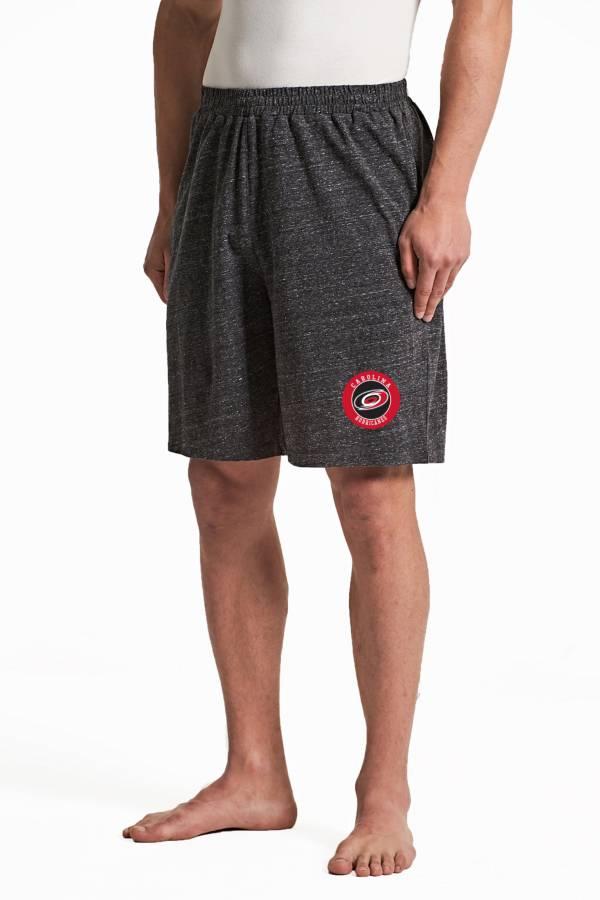 Concepts Sport Men's Carolina Hurricanes Pitch Grey Shorts product image