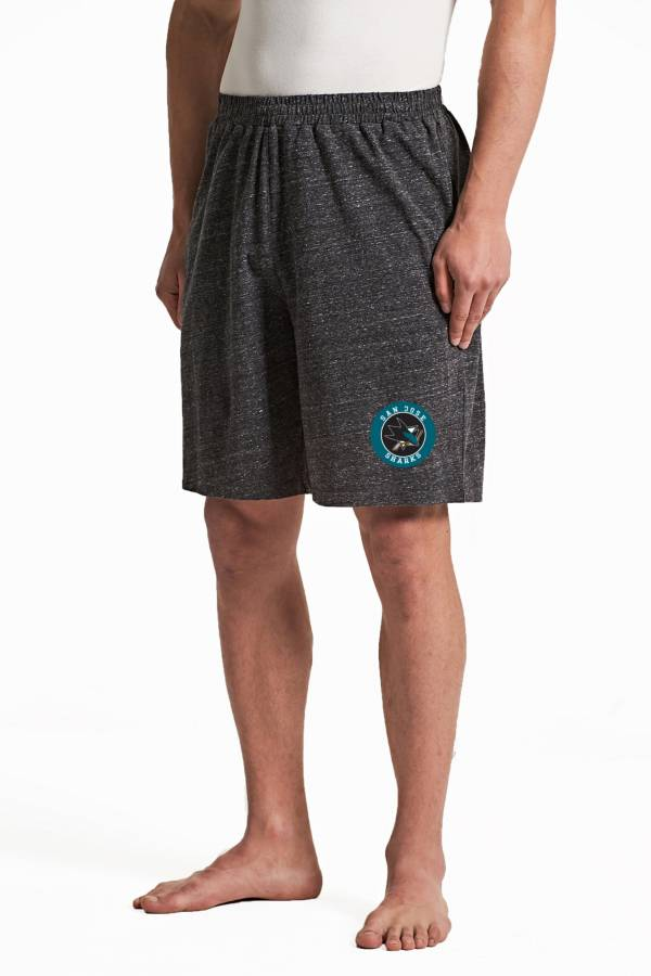Concepts Sport Men's San Jose Sharks Pitch Grey Shorts product image