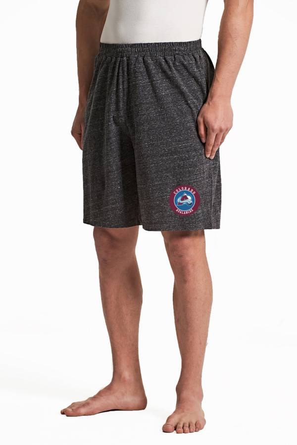 Concepts Sport Men's Colorado Avalanche Pitch Grey Shorts product image