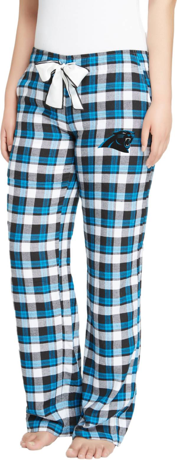 Concepts Sport Women's Carolina Panthers Piedmont Flannel Pants product image