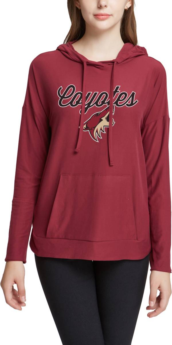 Concepts Sport Women's Arizona Coyotes Fairway Maroon Pullover Sweatshirt product image