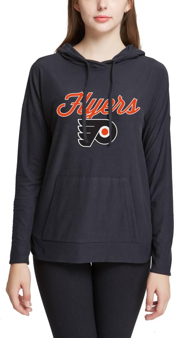 Concepts Sport Women's Philadelphia Flyers Fairway Black Pullover Sweatshirt product image