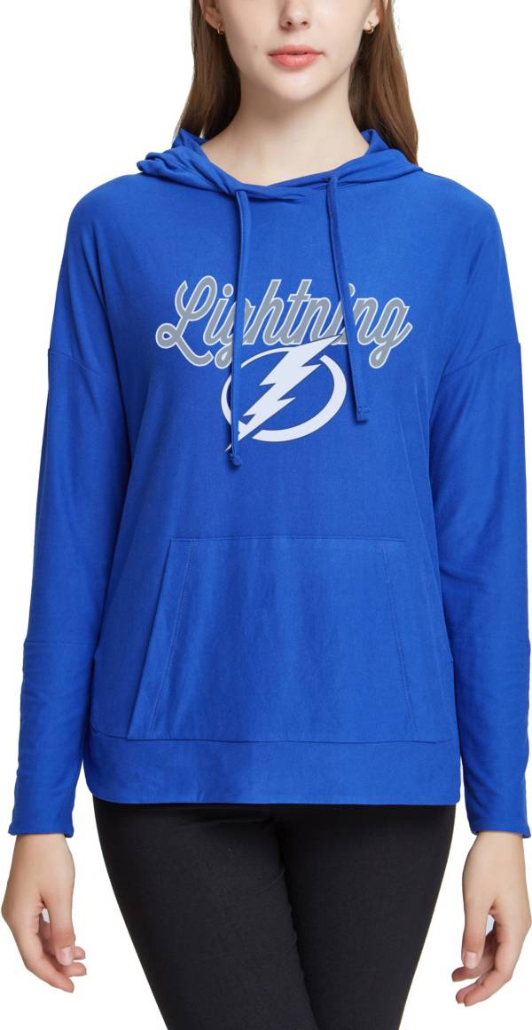 Concepts Sport Women's Tampa Bay Lightning Fairway Royal Pullover Sweatshirt product image