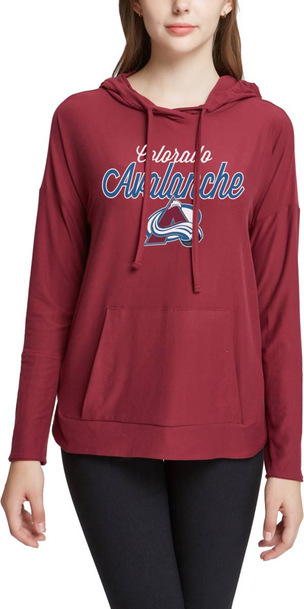 Concepts Sport Women's Colorado Avalanche Fairway Maroon Pullover Sweatshirt product image