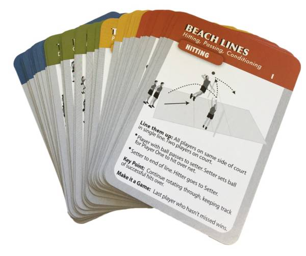 CoachDeck Instructional Volleyball Drill Cards product image