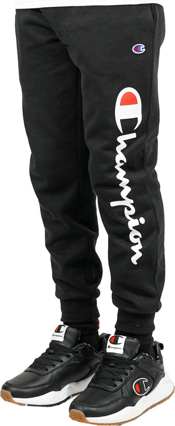 Champion Boys' Classic Script Jogger Pants product image