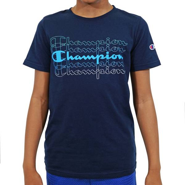 Champion Boys' Multi Script Graphic T-Shirt product image