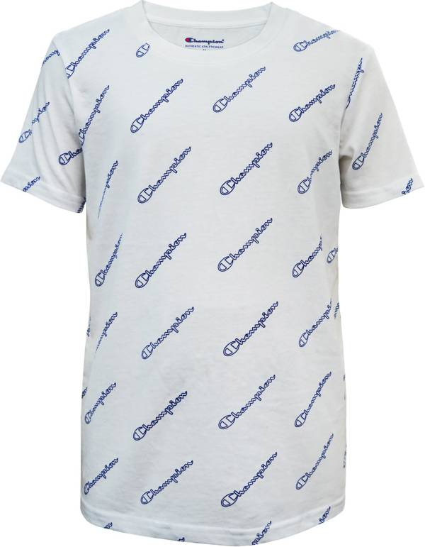 Champion Boys' Scribble Print T-Shirt product image