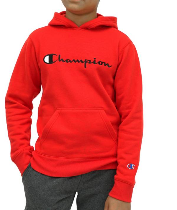 Champion Boys' Script Fleece Hoodie product image