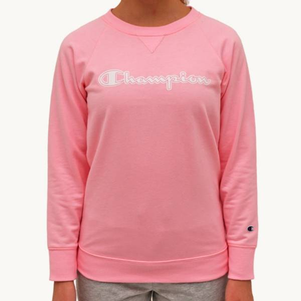 Champion Girls' French Terry Outline Logo Crewneck product image