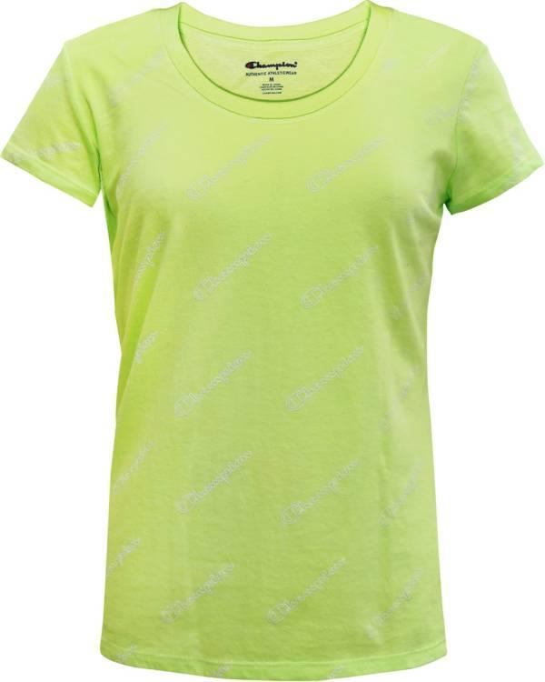 Champion Girls' Small Script Print T-Shirt product image