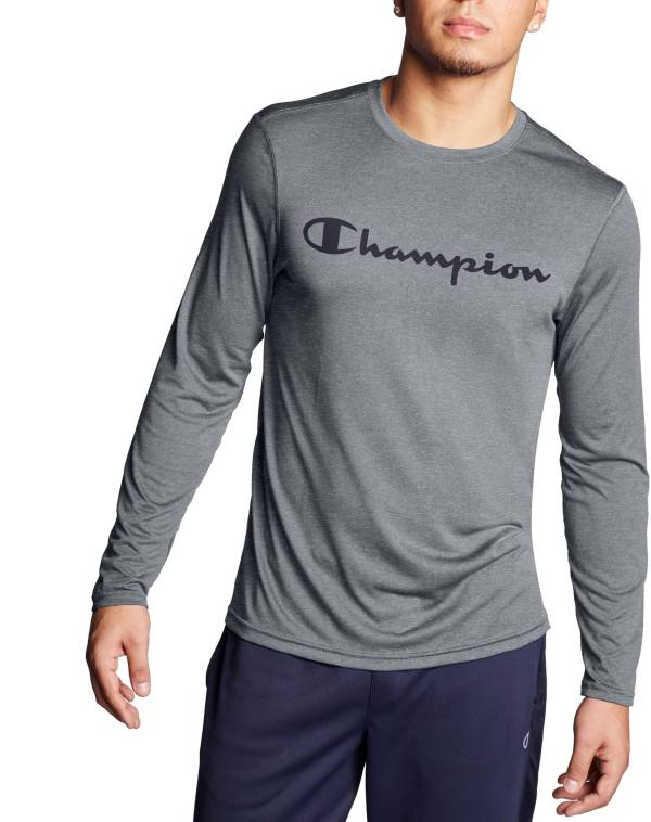 Champion Men's Double Dry Graphic Long Sleeve Shirt product image