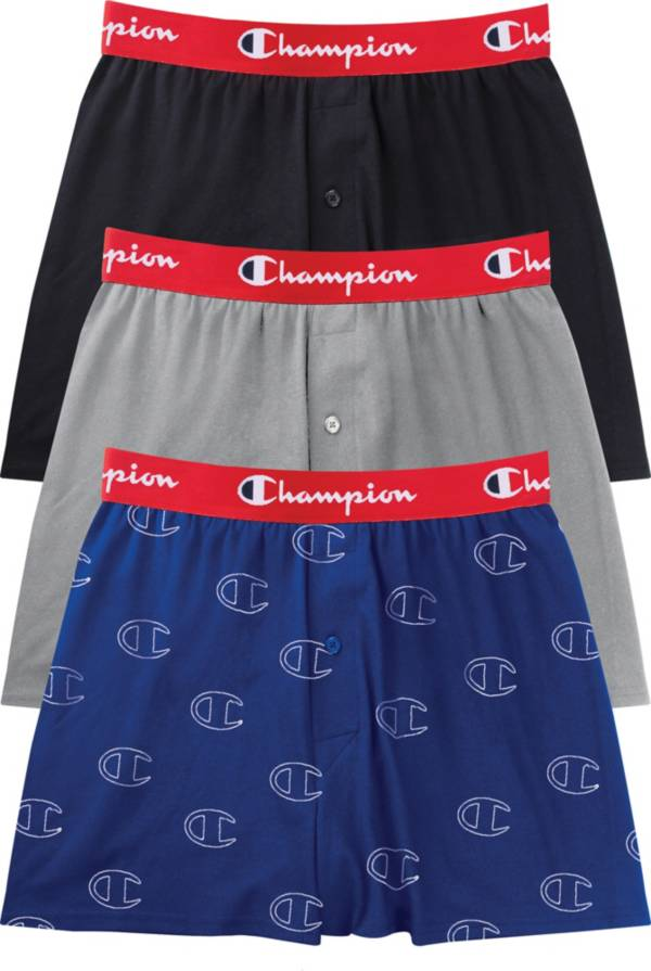 Champion Men's Everyday Comfort Cotton Stretch Boxers – 3 Pack product image