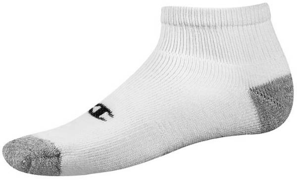 Champion Men's Double Dry Performance Quarter Socks - 6 Pack product image