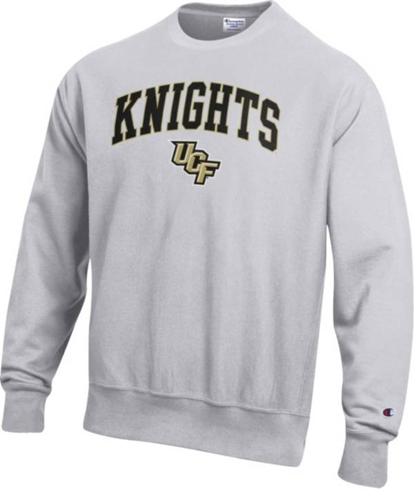 Champion Men's UCF Knights Grey Reverse Weave Crew Sweatshirt product image