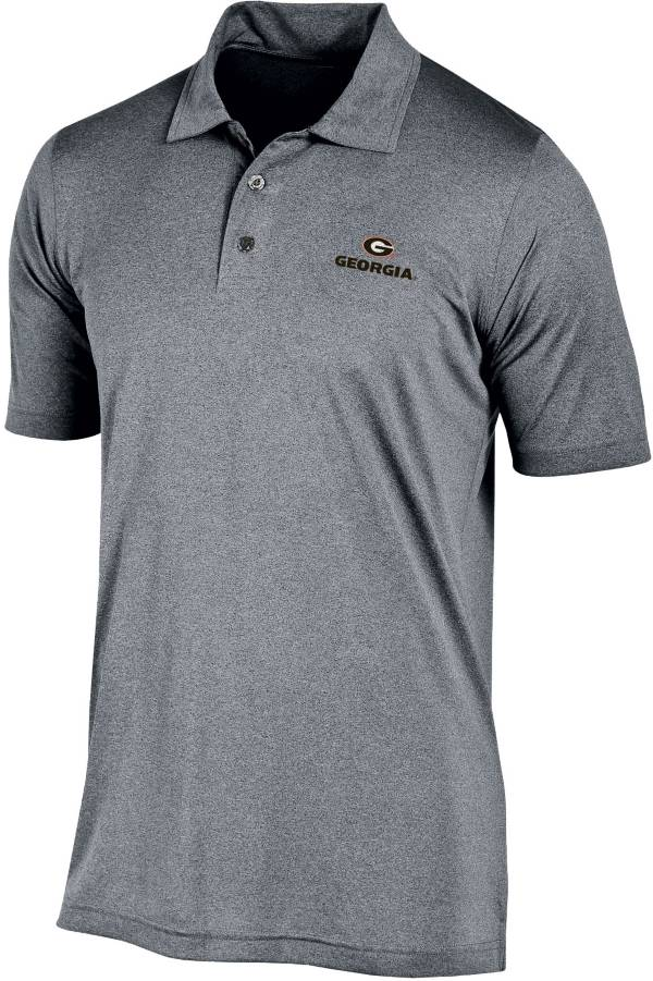 Champion Men's Georgia Bulldogs Grey Performance Polo product image