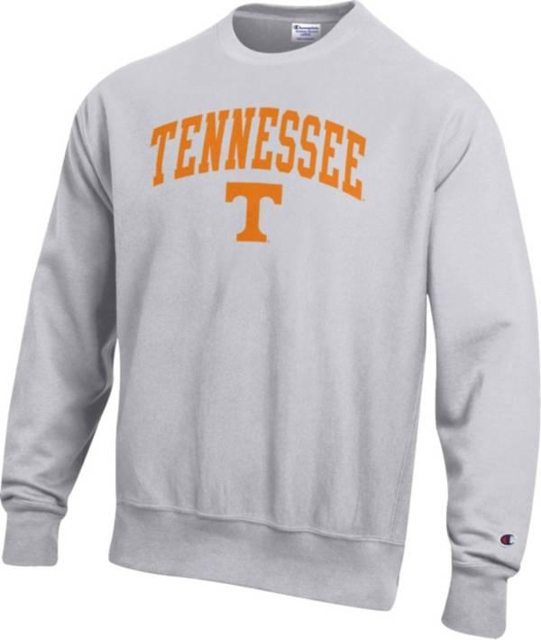 Champion Men's Tennessee Volunteers Grey Reverse Weave Crew Sweatshirt product image
