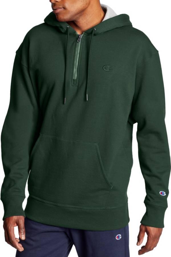 Champion Men's Powerblend ¼ Zip Pullover Hoodie product image