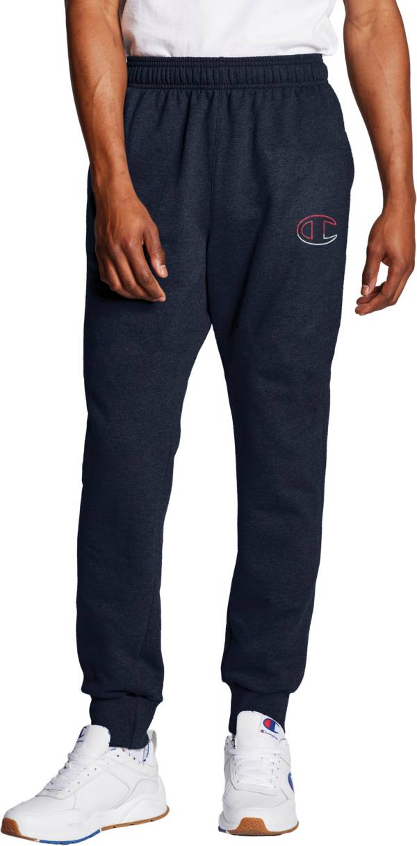 Champion Men's Powerblend Fleece C Logo Joggers product image