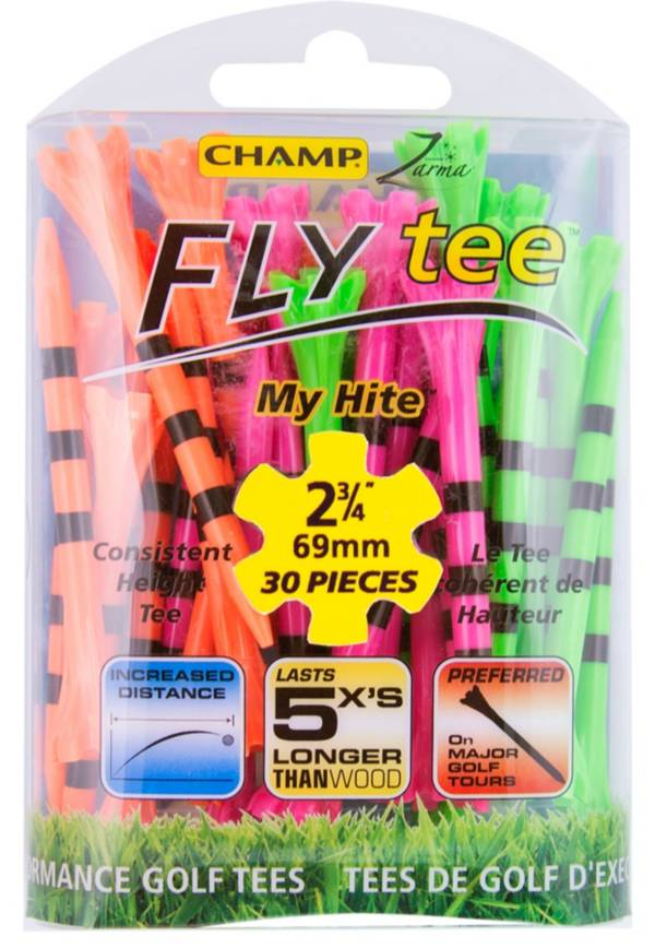 """Champ 2.75"""" Zarma FLYtee My Hite Golf Tees - 30 Pack product image"""