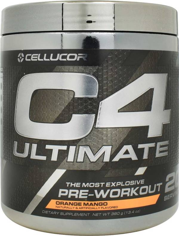 Cellucor C4 Ultimate Pre-Workout Orange Mango 20 Servings product image