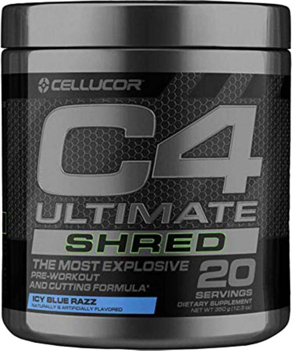 Cellucor C4 Ultimate Shred Pre-Workout Icy Blue Razz 20 Servings product image