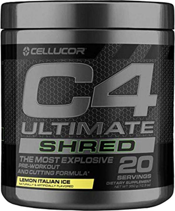 Cellucor C4 Ultimate Shred Pre-Workout Lemon Italian Ice 20 Servings product image